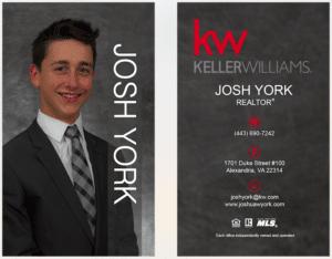 Josh York business card